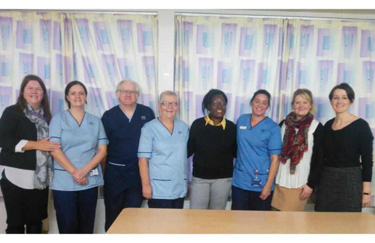 Malawian palliative care nurse joins Scottish Hospital Team