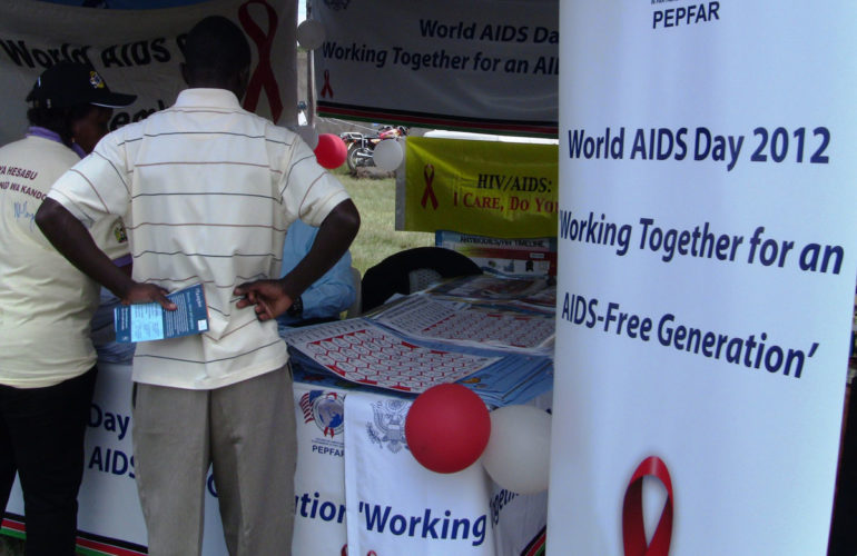 Kenya still battling with HIV/AIDS management
