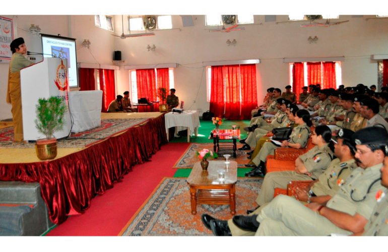 Palliative care awareness for India's Border Security Force