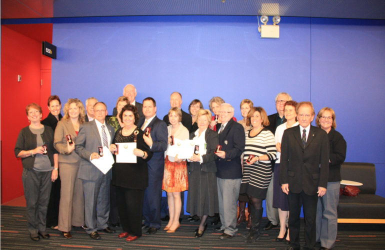 CHPCA Awards Queen Elizabeth II Diamond Jubilee Medals to Hospice Palliative Care Leaders