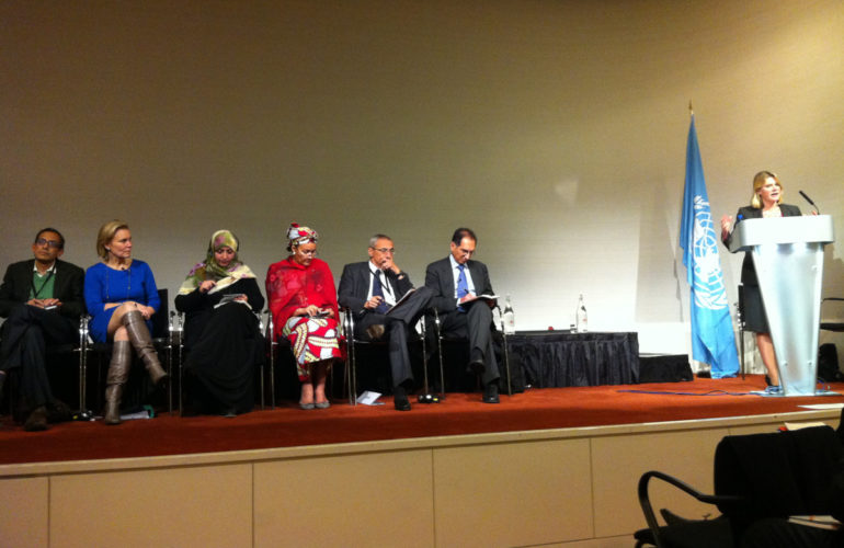Health and NCDs a priority in the UN High-Level Panel report on post-2015