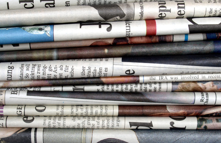 Daily news roundup – 30 September 2016