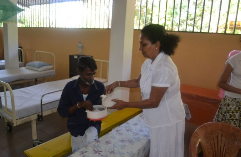 Indian support to develop palliative care service in Sri Lanka