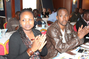 Participants-appreciate-a-speaker-during-the-conference
