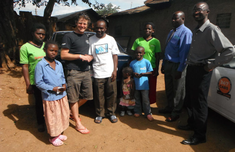 Hospice African Adventurer makes home visits