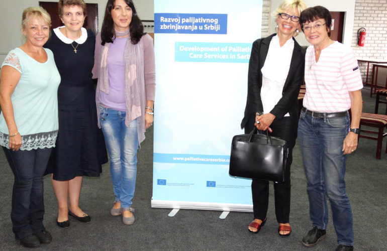 Second training on children's palliative care in Serbia