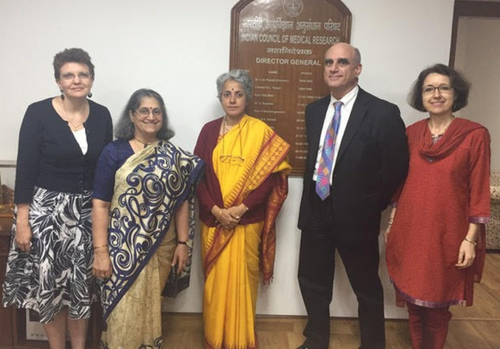 Joint advocacy for palliative care in Delhi