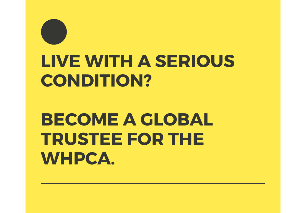 Palliative care direct stakeholder trustee wanted – Worldwide Hospice Palliative Care Alliance