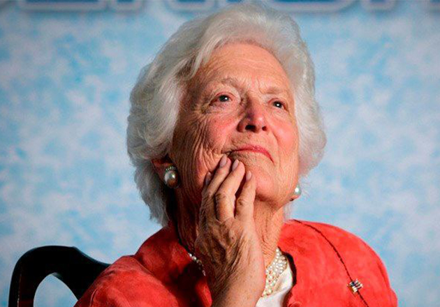 Barbara Bush's Graceful Exit