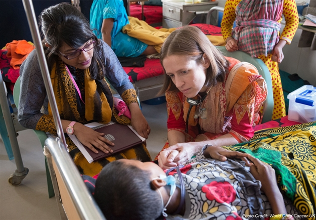 ICPCN launches Global Giving campaign to fund training in Bangladesh