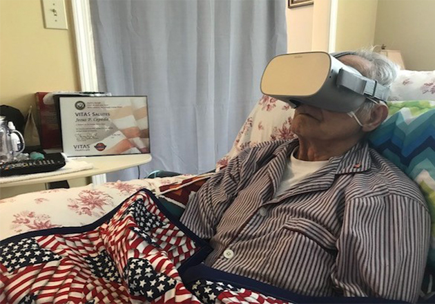 VITAS Healthcare Offers Atlanta's First Virtual Reality Honor Flight
