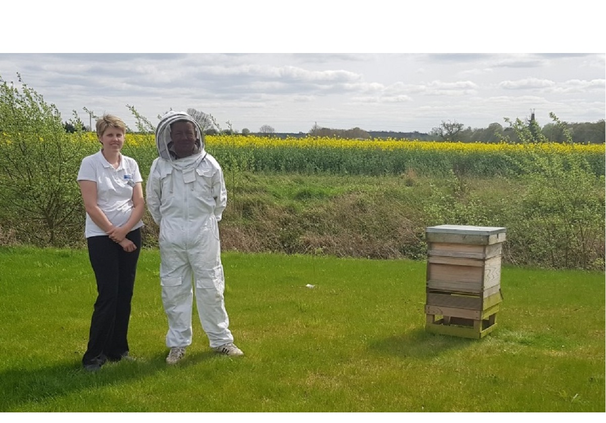 Hospice turns honey producer to raise money