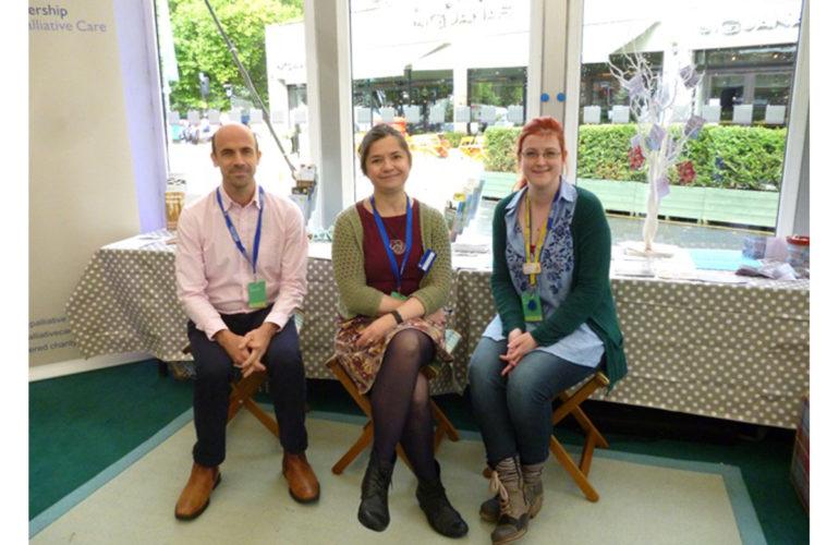 Health promoting palliative care at the Edinburgh International Book Festival: a collaborative approach