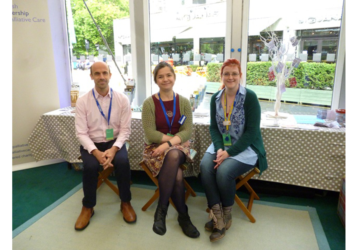 Health promoting palliative care at the Edinburgh International Book Festival: a collaborative approach