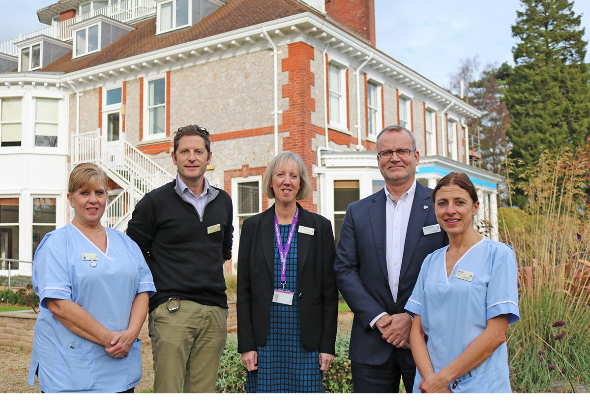 Hospice launches heart failure service with grant from Hospice UK and St James's Place Foundation