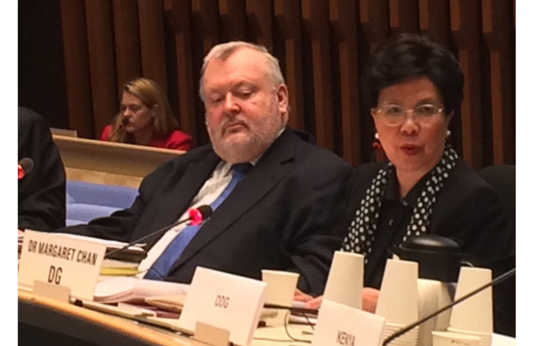 Palliative care advocates speak at WHO Dialogue on NCDs and development