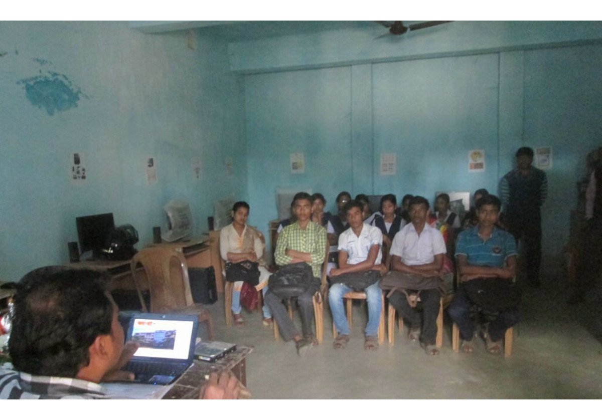 High school training day in West Bengal, India, includes palliative care