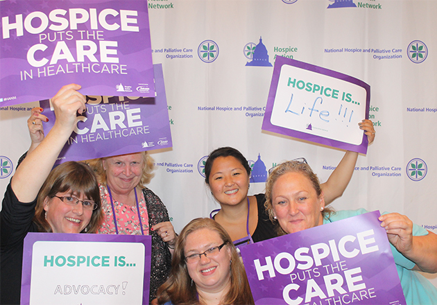 Hospice advocates share their stories on Capitol Hill