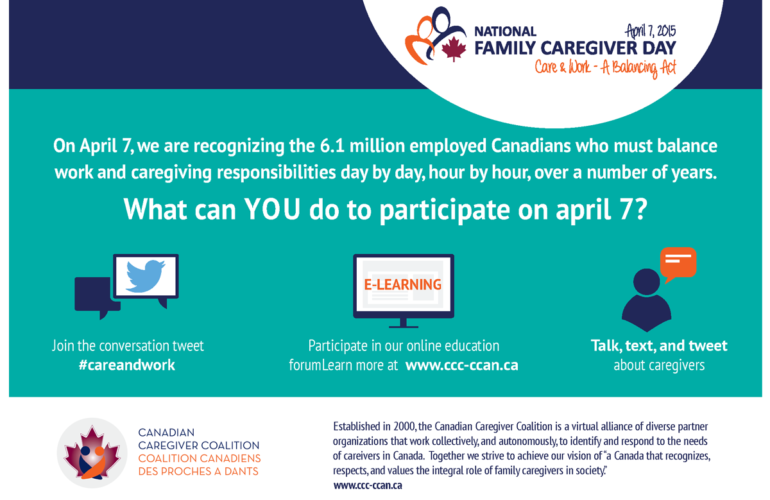Today is National Caregiver Day