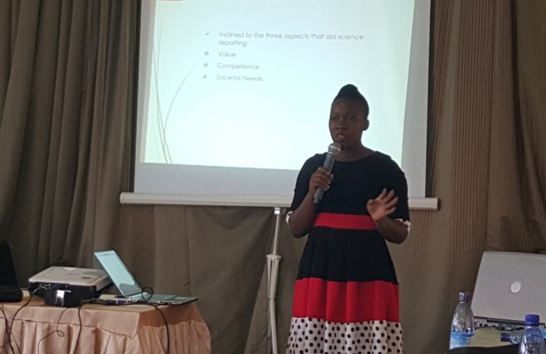 Ugandan media house editors trained in palliative care