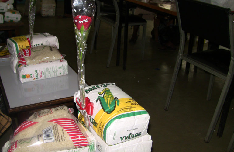 Held Sister Initiative share valentine's love with Nairobi Hospice patients