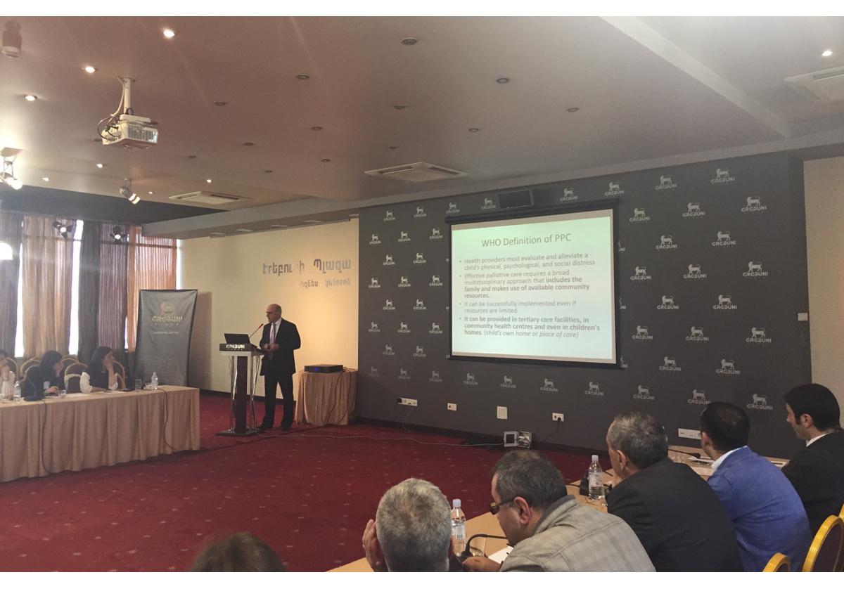 Progress and struggle for palliative care in Armenia