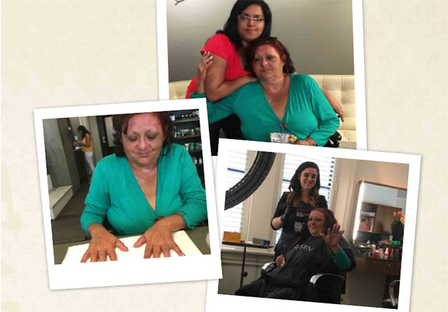 A Day at the Spa – a Lighthouse of Hope story