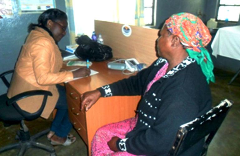 Machakos Palliative Care Unit mentors Kangundo level 4 hospital
