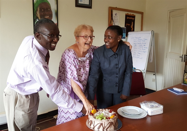 Palliative care pioneer turns 80