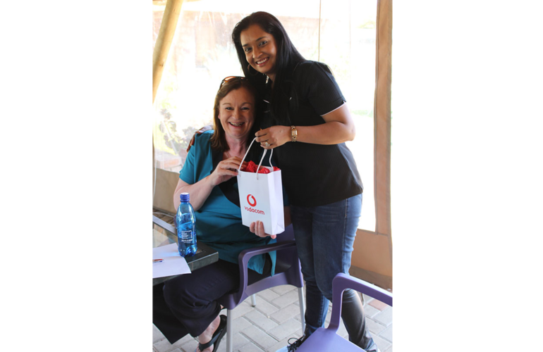 Vodacom Foundation throws their weight behind Stepping Stone Hospice