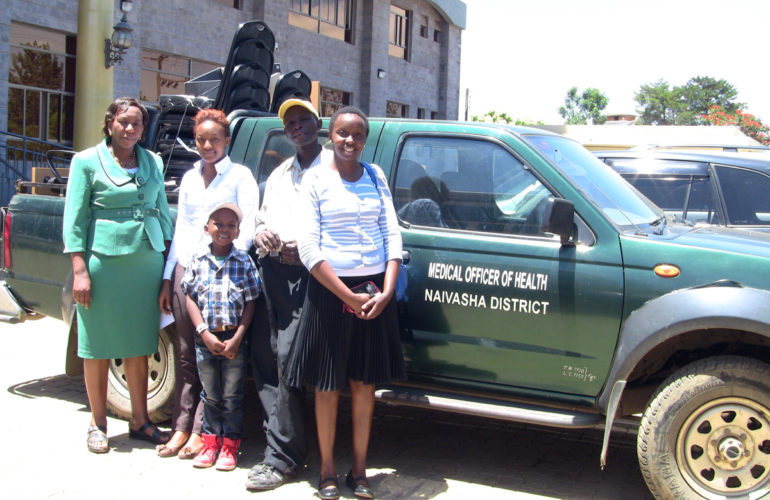 Children to access palliative care at Naivasha District Hospital in Kenya