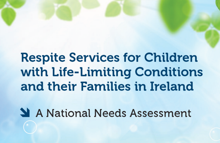Ireland: Growing need for respite care for children with life-limiting conditions