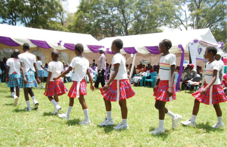 Childhood Cancer Awareness at Nakuru Hospice