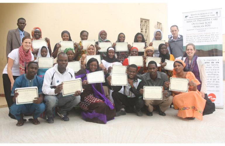 Un nouveau projet de soins palliatifs en Mauritanie, Afrique de l'ouest