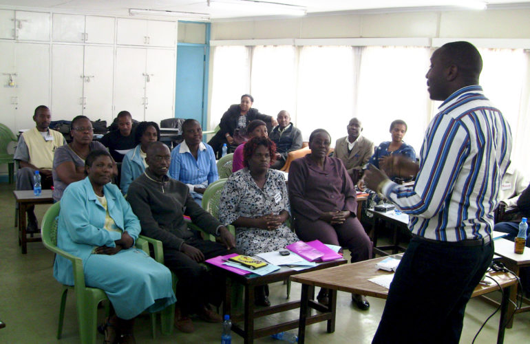 Training community HCWs to enhance palliative care reach