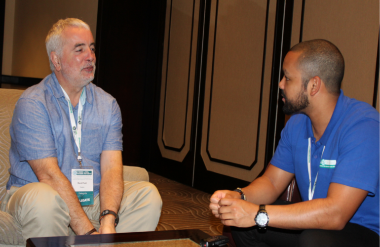 HPCA Conference 2015: Catching up with David Praill
