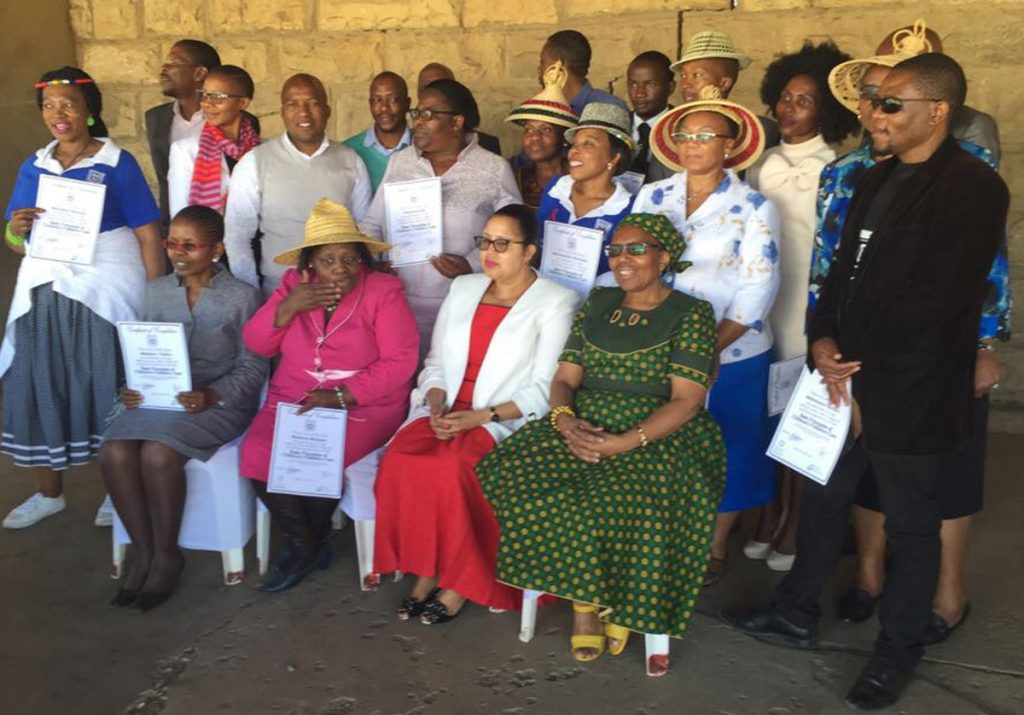 Official launch of children's palliative care programme in Lesotho