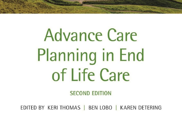 Book review: Advance care planning in end of life care