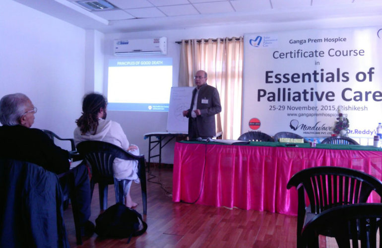 First Essentials of Palliative Care training by Ganga Prem Hospice held in Uttarakhand