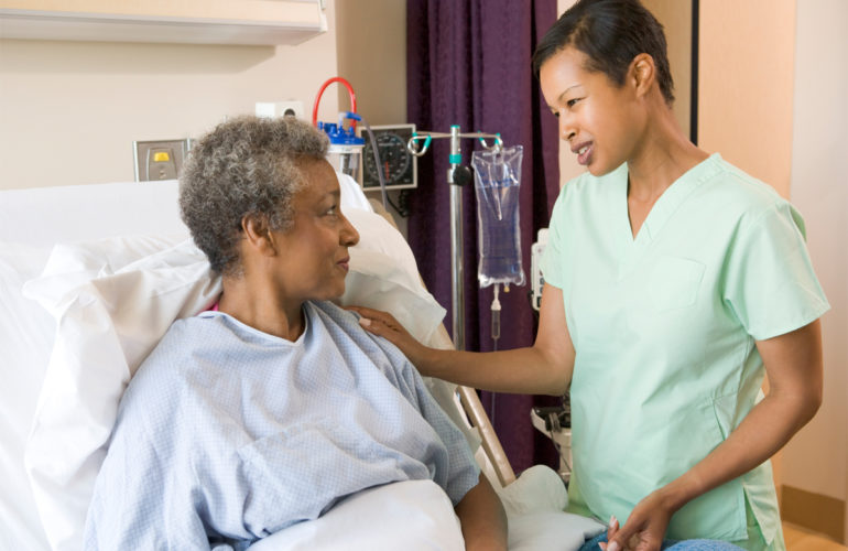 Diversity services in Brampton's palliative care unit