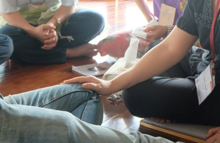 Pal2Know knowledge sharing workshops conclude with bereavement care session in Thailand