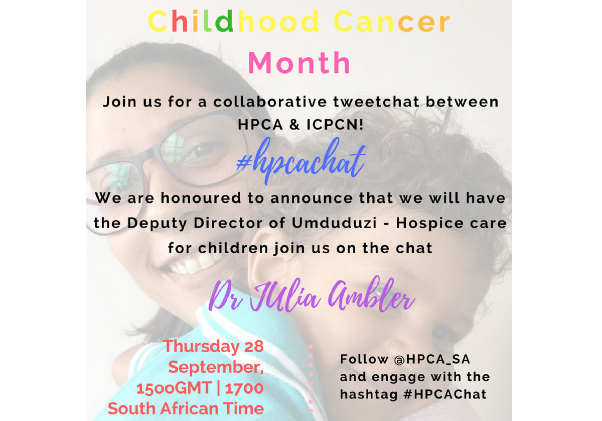 International Tweetchat to focus on childhood cancer
