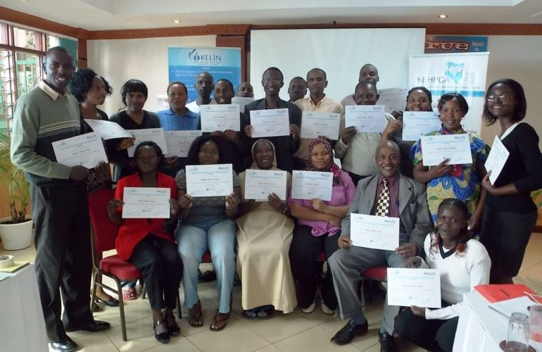 Community paralegals attend seminar on health and palliative care rights
