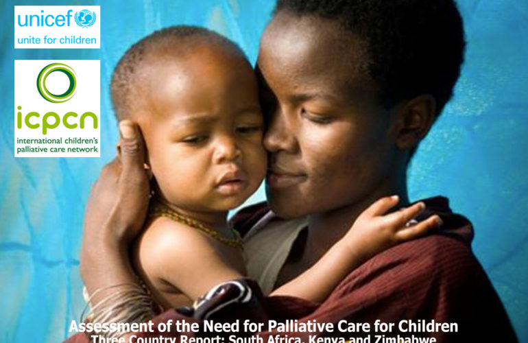 Significant numbers of sick children suffer and die without access to palliative care