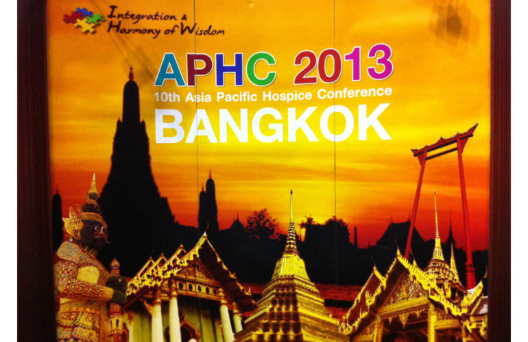 Asia Pacific Hospice Conference starts today