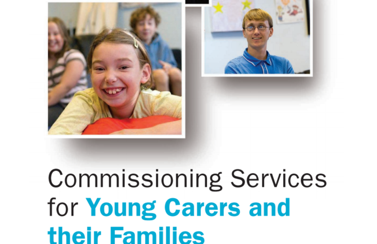 Guidance on commissioning young carer services