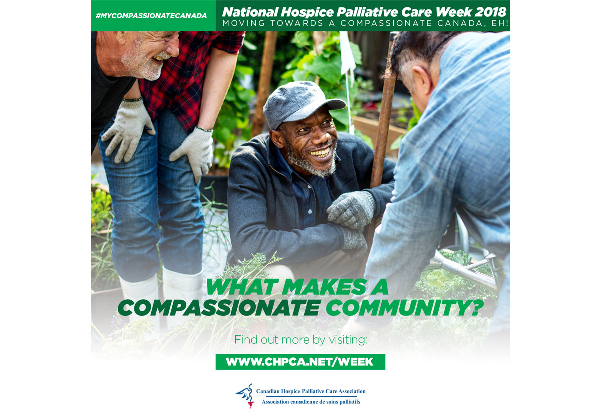 BACKGROUNDER: Hospice Palliative Care Week 2018
