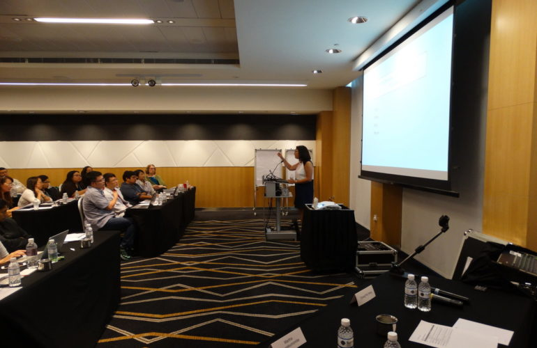 Paediatric palliative care workshop at 12th Asia Pacific Hospice Conference