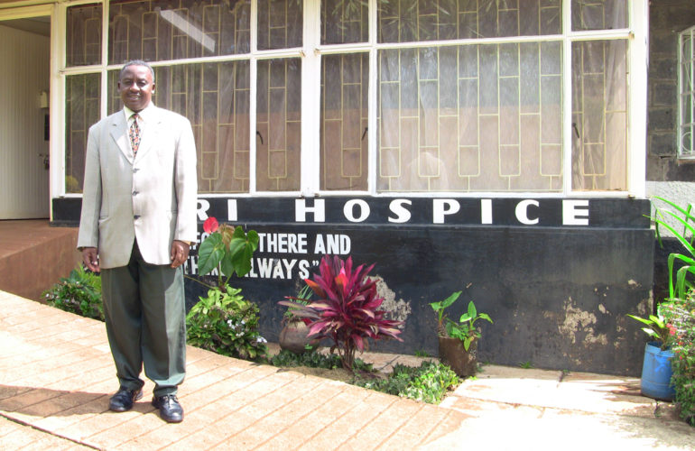 A visit made me know of hospice care that I am now part of