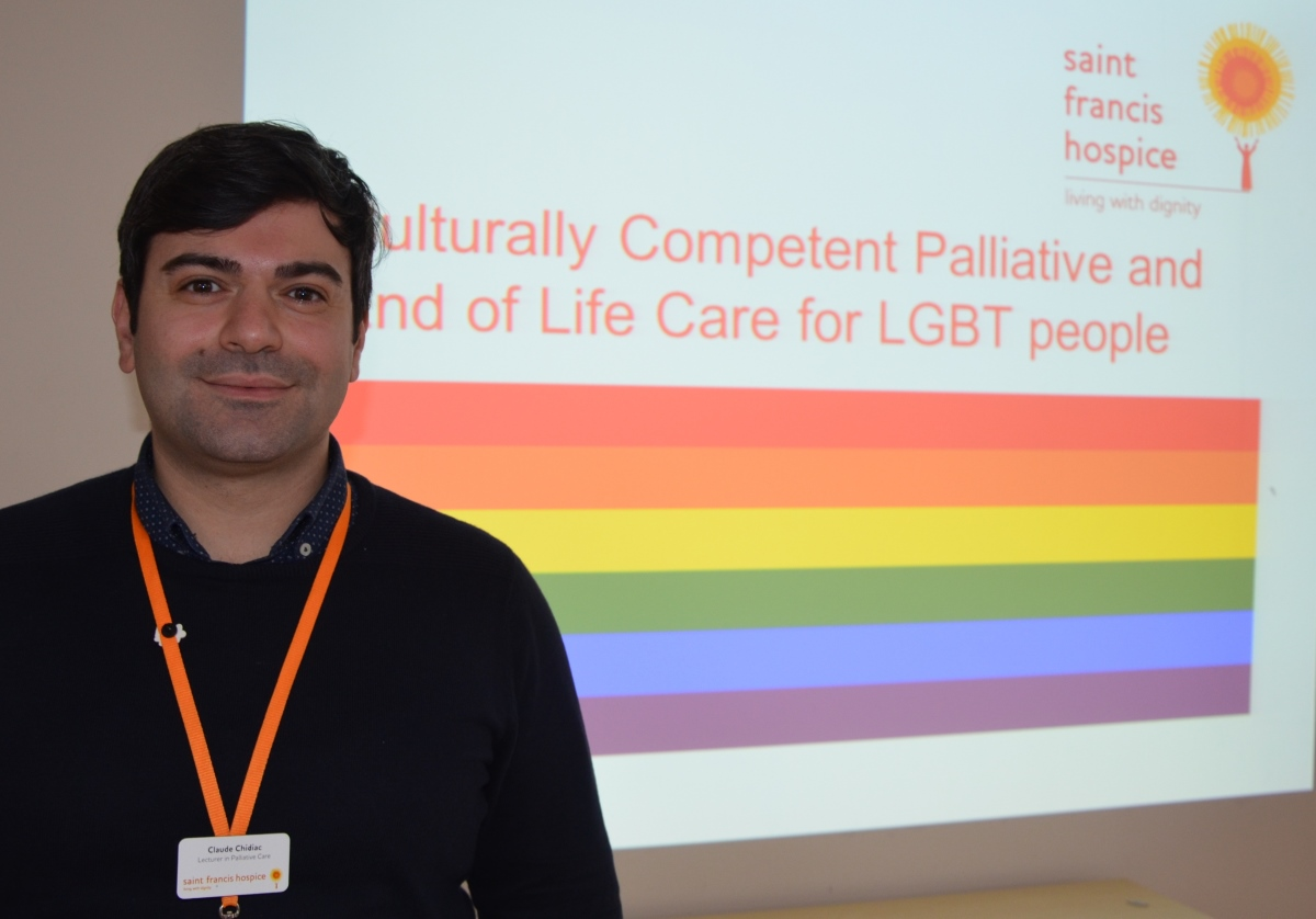 Saint Francis Hospice launches new  training module for care professionals supporting people from LGBT community